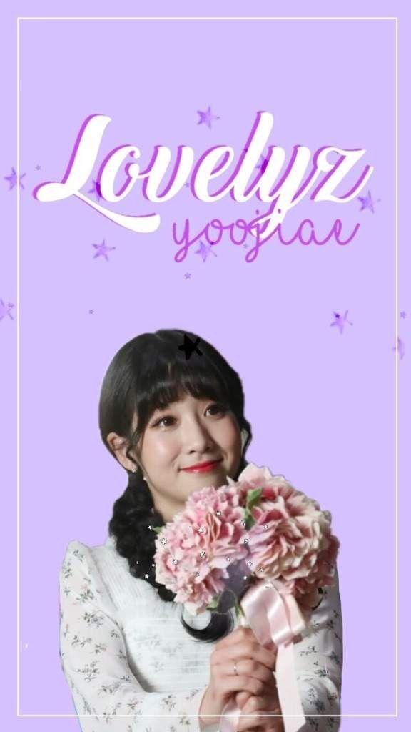 #Lovelyz #Yoojiae #jiae #violet #Edit #Beautiful #Pretty #Cute #Now,we #Amino #App #tumblr #flower #floral #Girl #Group #Girlgroup #FakeMaknae #Blossoms #Lovely #Stars #Photoshoot #Singer #k-pop #idol #korean #woollim #dancer #wallpaper #lockscreen #iphone #white #braid #bangs #boquet