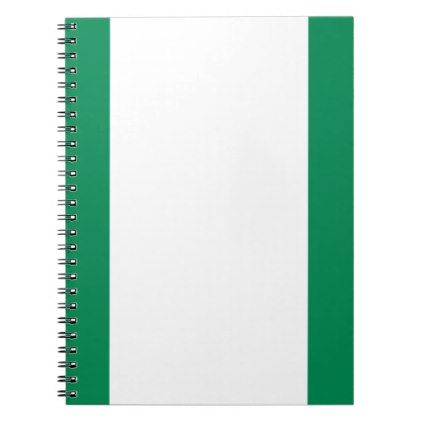 #Low Cost! Nigeria Flag Notebook - #travel #office #gifts