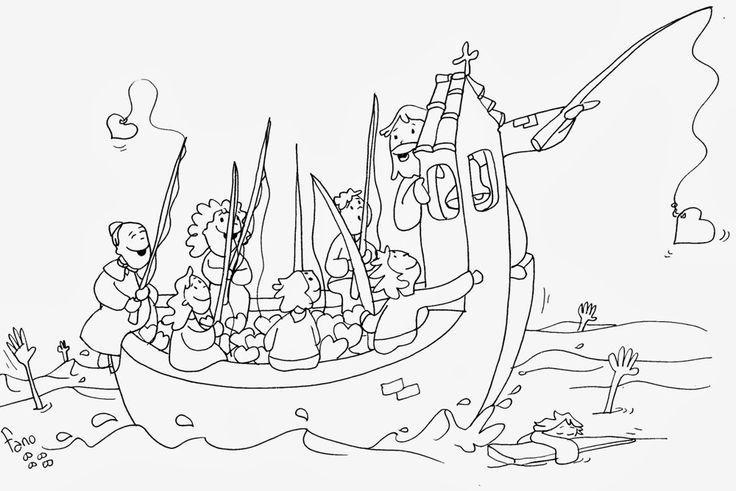 Educar con Jesús: Yo os haré pescadores de hombres Mt 4,12-23 (TOA3-14)
