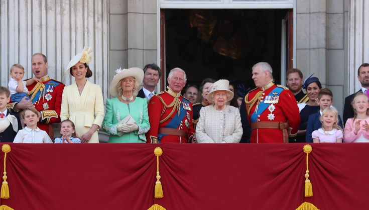 Royal Family Gathers at Buckingham Palace for Trooping the Colour