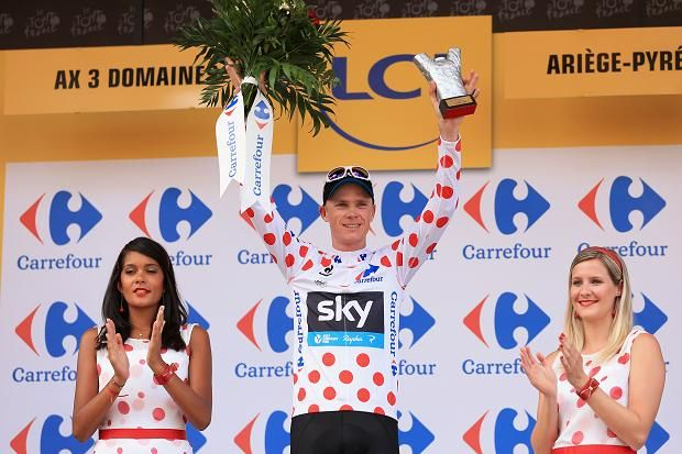 Froome also is the King of the mountain