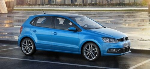 The new 2014 VW Polo 6R Facelift.