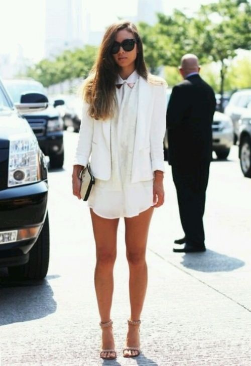 Summer 2013 Trends : All White Everything