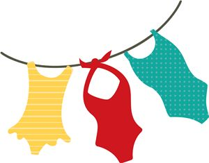 View Design #18018: 'clothesline' swim suits