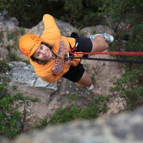 Our half day abseiling course is a great introduction to abseiling, and there is no better venue than the Blue Mountains, easily accessed from Sydney.