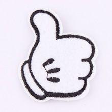 Parches bordados para la ropa 1 unids hierro en remiendos punk adorno applique diy accesorios de ropa pegatinas(China (Mainland))