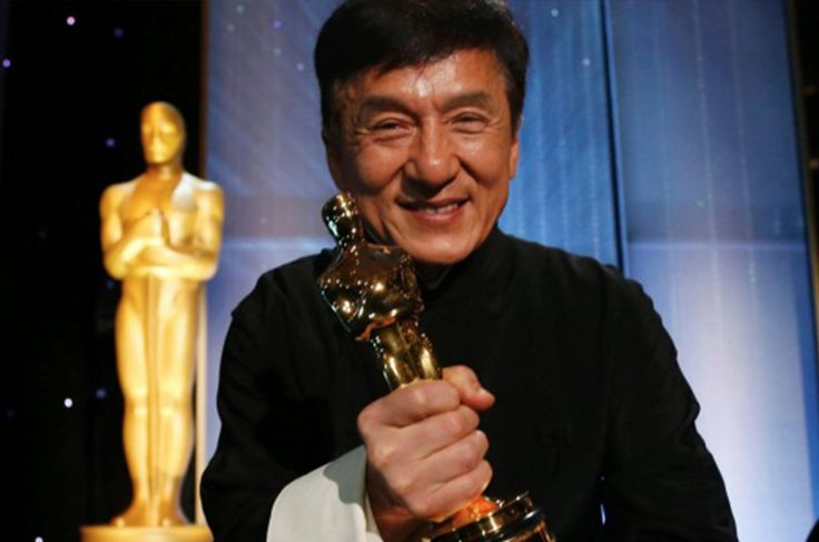 23 years ago when Jackie Chan saw an Oscar at Sylvester Stallone's house he told it was at that moment when he decided that he wanted one.