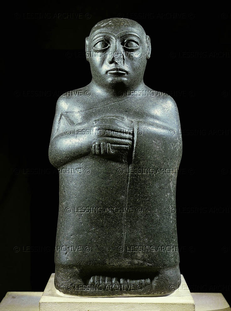 sumerian votive statues Gudea's inscribed statues and the enculturation of a work force rick world––a burgeoning urban society in mesopotamia at the turn of votive, gudea's.