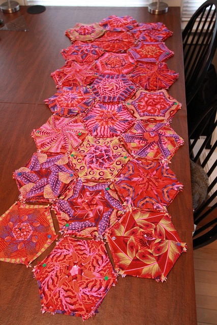 Hexagons Ready for Wall - Quilt 29 by Bruce H. Seeds, via Flickr