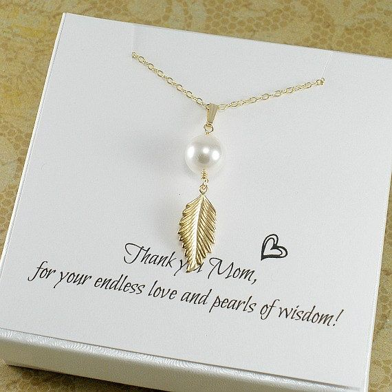Mothers Day Gifts Mom Birthday Gift Necklace Mother Present For In Law New