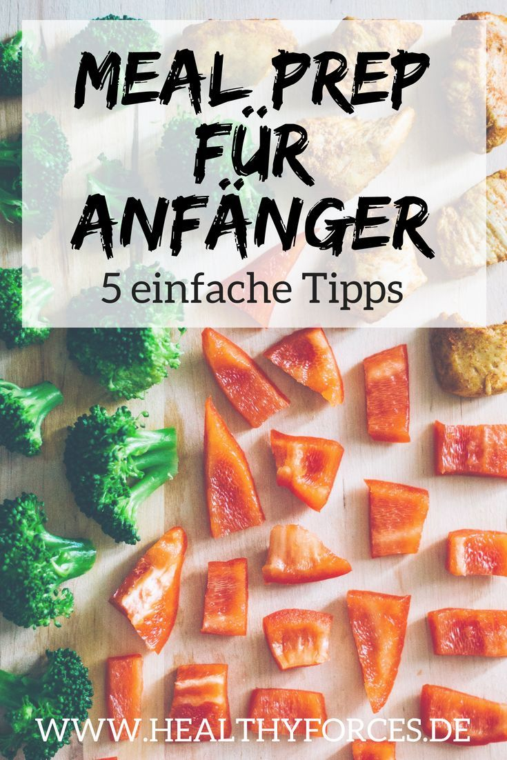 Meal Prep Weight Loss Plan: 5 Simple Tips for Beginners – Abnehmen Gruppenboard
