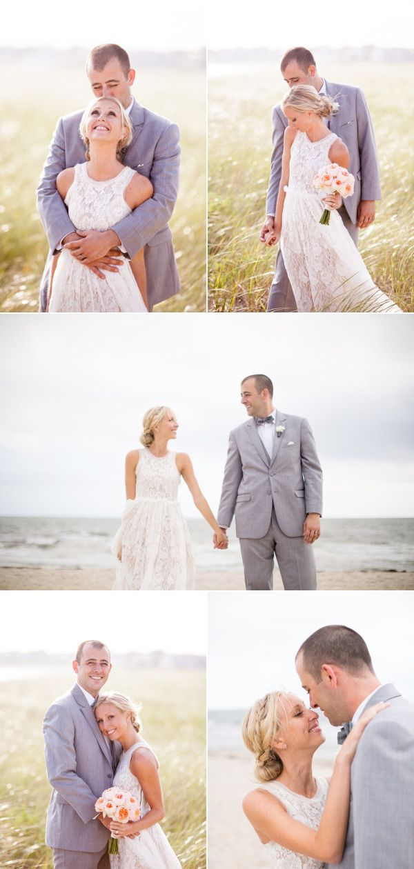 Whimsical Cape Cod Beach Wedding