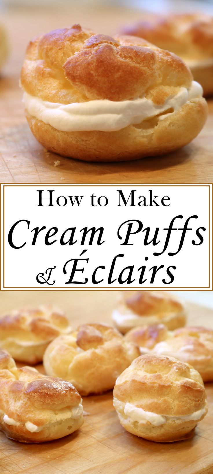how to make eclairs filling