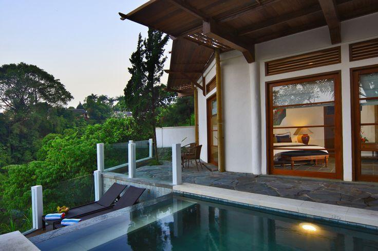 Private Pool Suite http://www.novuspuncak.com