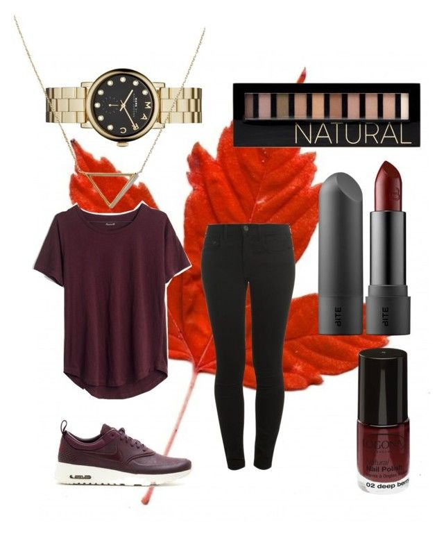 """""""Fall!!! #13"""" by sarah-e11 on Polyvore featuring NIKE, Proenza Schouler, Madewell, Forever 21, Marc by Marc Jacobs and Banana Republic"""