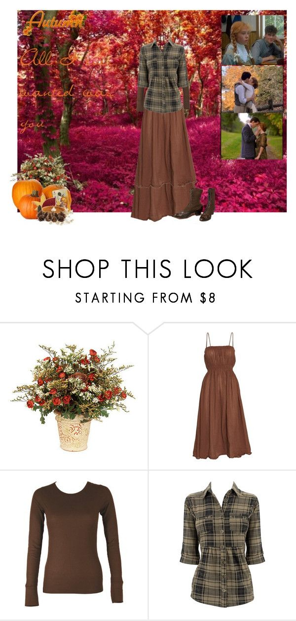 """Anne Of Green Gables Fall"" by christianmodesty ❤ liked on Polyvore featuring Nexus and Rabens Saloner"