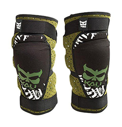 Kali Protectives Aazis Soft Knee Guard (Olive/Green, Medium). For product info go to:  https://www.caraccessoriesonlinemarket.com/kali-protectives-aazis-soft-knee-guard-olivegreen-medium/