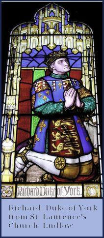 Richard Duke of York from St Laurence's Church, Ludlow