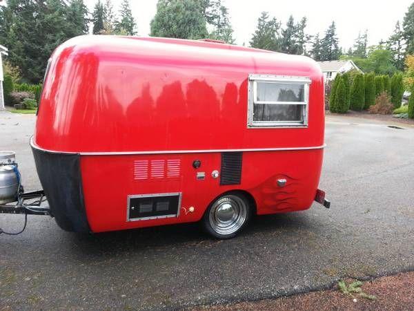 13FT, Boler Fiberglass Travel Trailer   campers   Pinterest