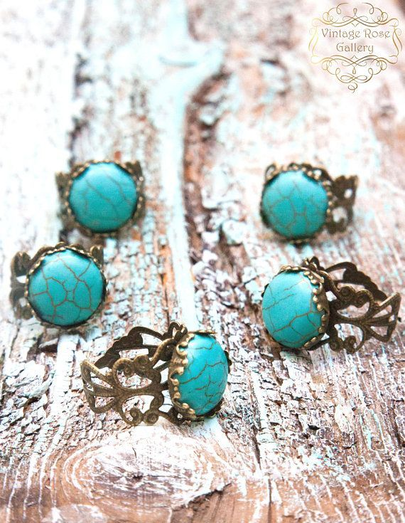 Turquoise BOHO CHIC Necklace and Bracelet Aqua Beaded Necklace with Gemstones and Glass Myrtos Beach Necklace  by VintageRoseGallery