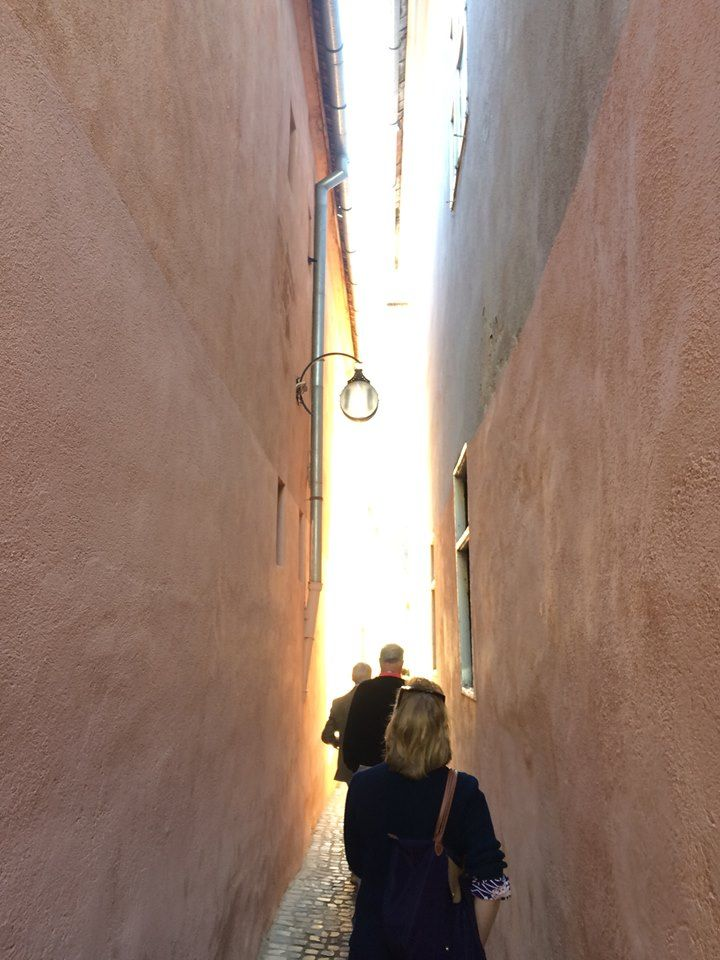 The #narrowest street in Europe - in Brasov