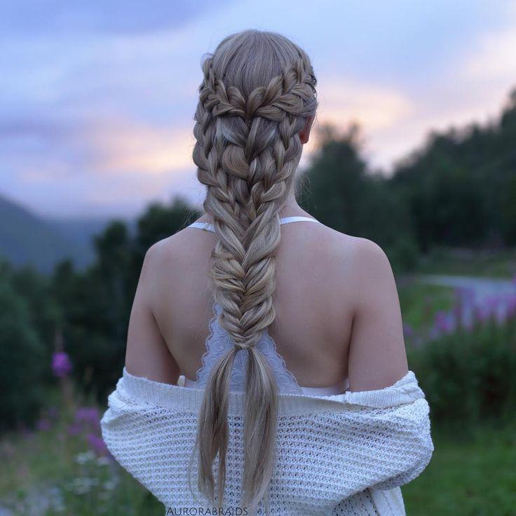 25+ best ideas about Mermaid braid tutorials on Pinterest ...
