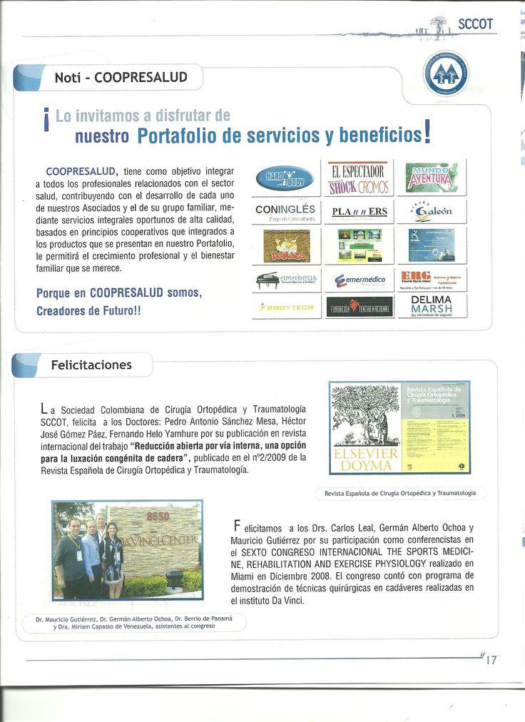 Dr. Pedro Antonio Sánchez Mesa, MD; Médico Especialista en Ortopedia y Traumatología, Cirugía Reconstructiva y del Reemplazo Articular Cadera y Rodilla, Ortopedia y Traumatología Infantil y del Adolescente. C.C. CENTRO SUBA - Calle 145 No. 91-19  Consultorio 301,  L-10-103; PBX: 6923370 Ext. 10-02 Móvil: +57-3142448344, Bogotá D.C. Colombia