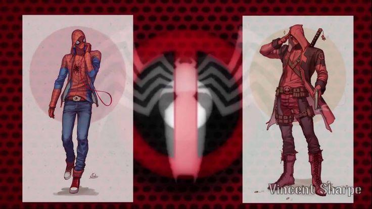 Deadpool and Spiderman Yaoi ART 3