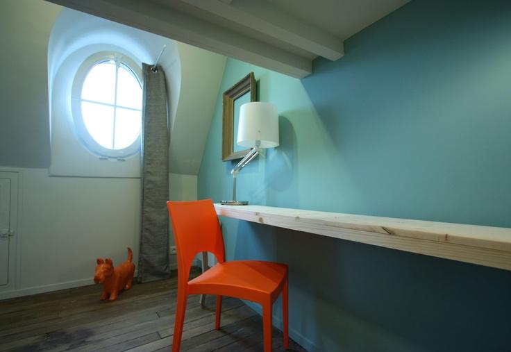 Appartement de 28m² Parisien - Design by Didier VERSAVEL