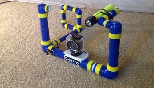 GoPro Underwater Video Platform, and other DIY GoPro rigs