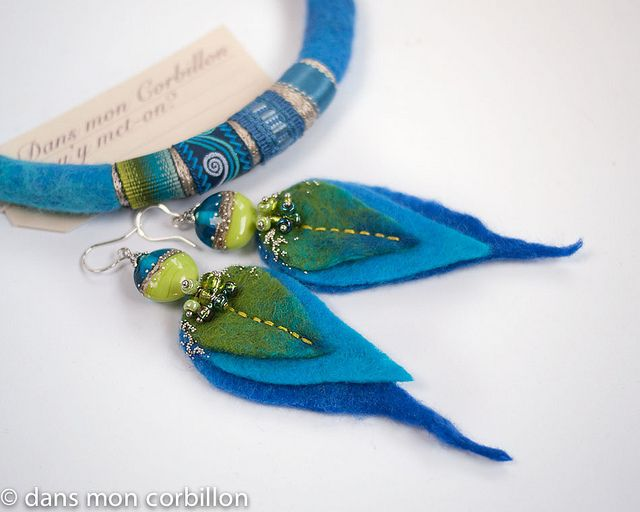 parure vert-turquoise | Flickr - Photo Sharing!