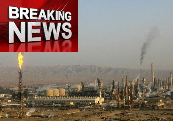 ISLAMISTS SEIZE IRAQ OIL REFINERY, CRUDE OIL PRICES SPIKING