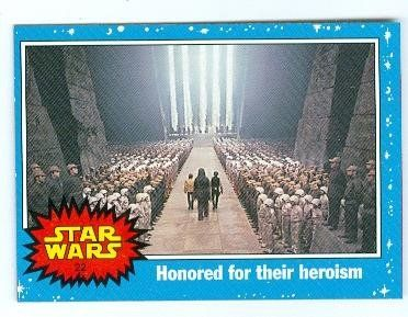 Throne Room Victory Celebration trading card Star Wars Heritage 2004 Topps #22 //Price: $3 & FREE Shipping //     #starwarscollection