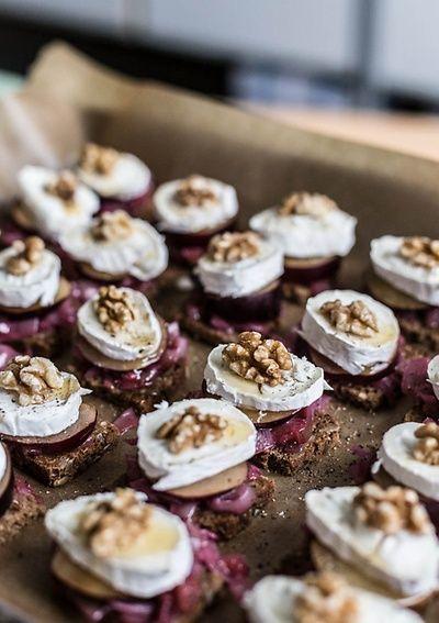 Silvester Snack und Vorspeise