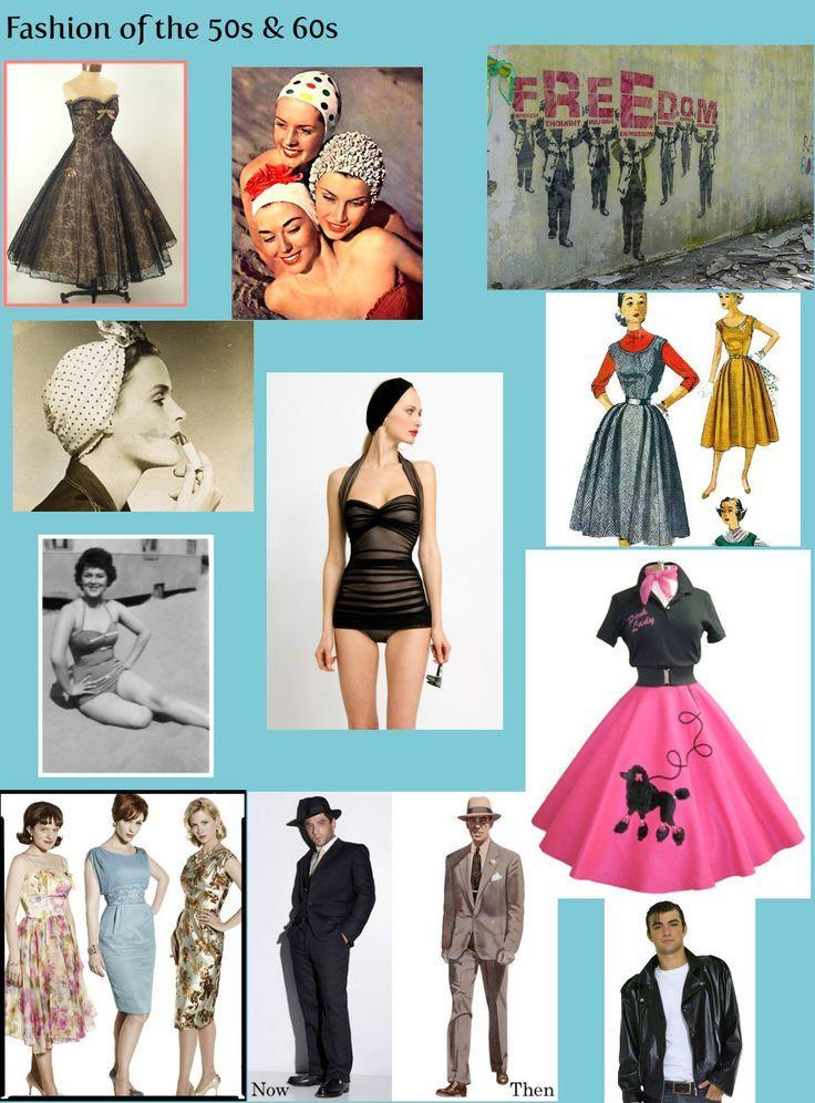 мода в стиле 50-х