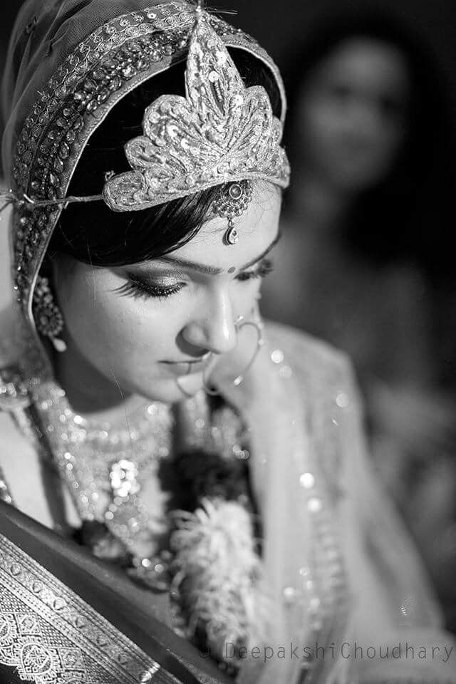 #indian#bride#in#sobar#look#and#gorgeous#attire.