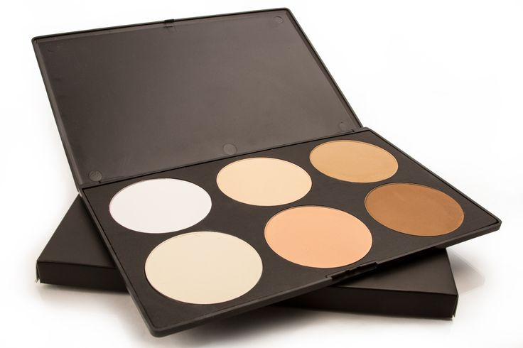 Blank Canvas Cosmetics Store - 6 Contour/Highlight  Palette
