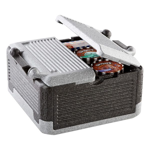 Our Flip-Box® Premium Iceless Cooler keeps items cold for up to six hours without ice, hot for an hour and a half and folds flat for easy storage! | $29.99 each