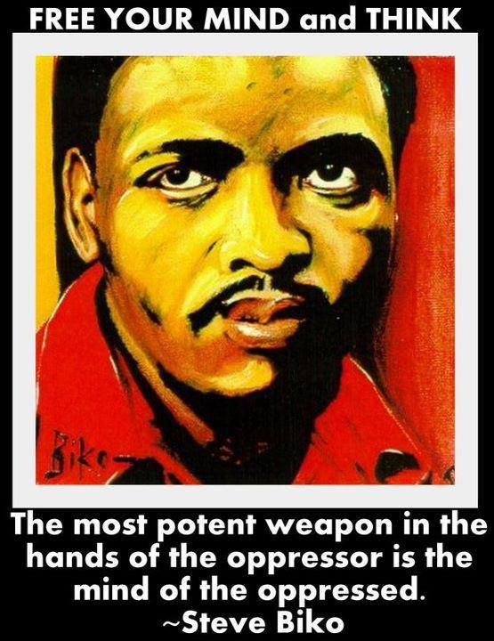 Stephen Bantu Biko was an anti-apartheid activist in South Africa in the 1960s and 1970s. A student leader, he later founded the Black Consciousness Movement which would empower and mobilize much of the urban black population.