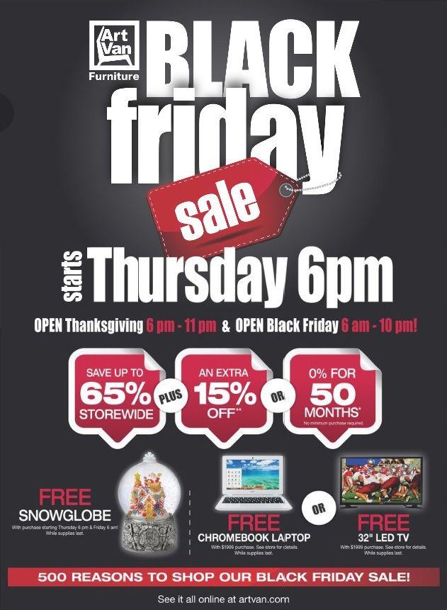 Art Van Black Friday Ad - http://www.hblackfridaydeals.com/art-van-black-friday-deals-sales-ads/
