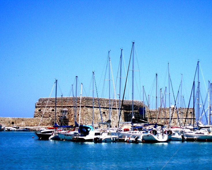 Goule, the fort of Iraklion, Crete