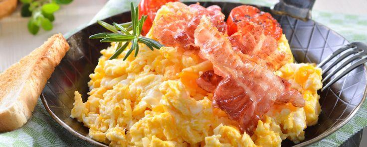 Eggerøre-med-bacon