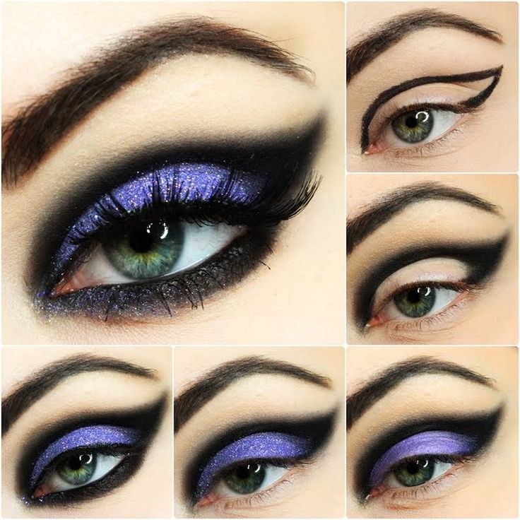 Ewelina shows us easy breezy ways to create the perfect night out look! Smear on some purple and black hues to highlight your gorgeous eyes!