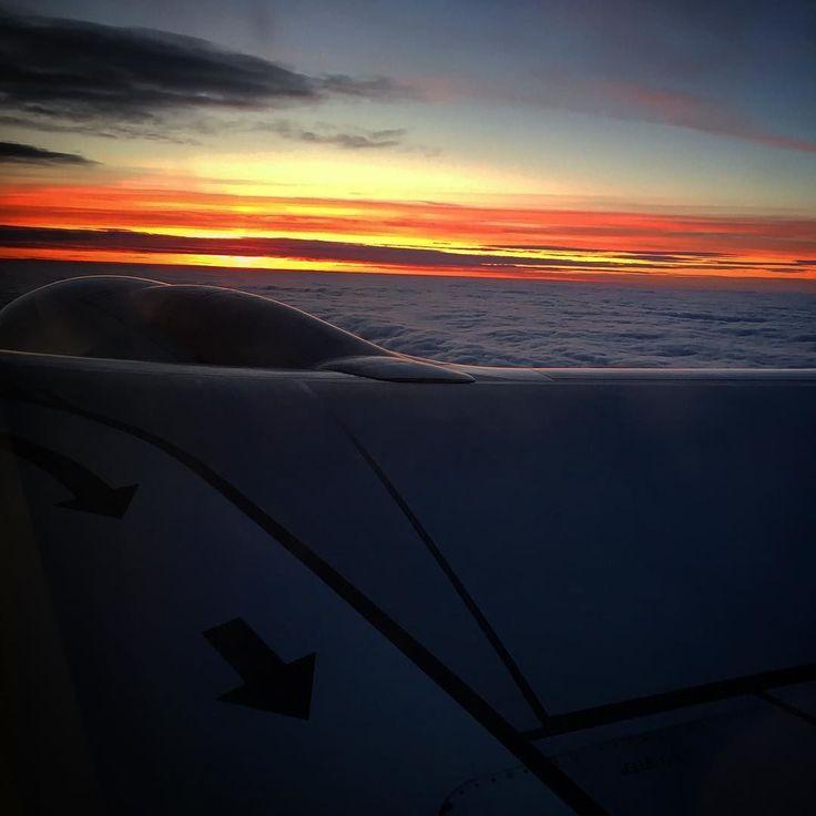I Believe I Can Fly #airplane #rainair #sunset