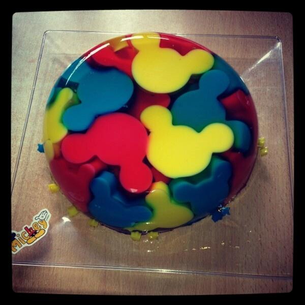 Gelatina 3d mickey | mickey mouse | Pinterest