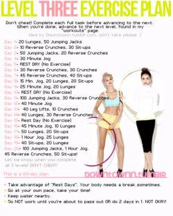 Level3 Exercise Plan