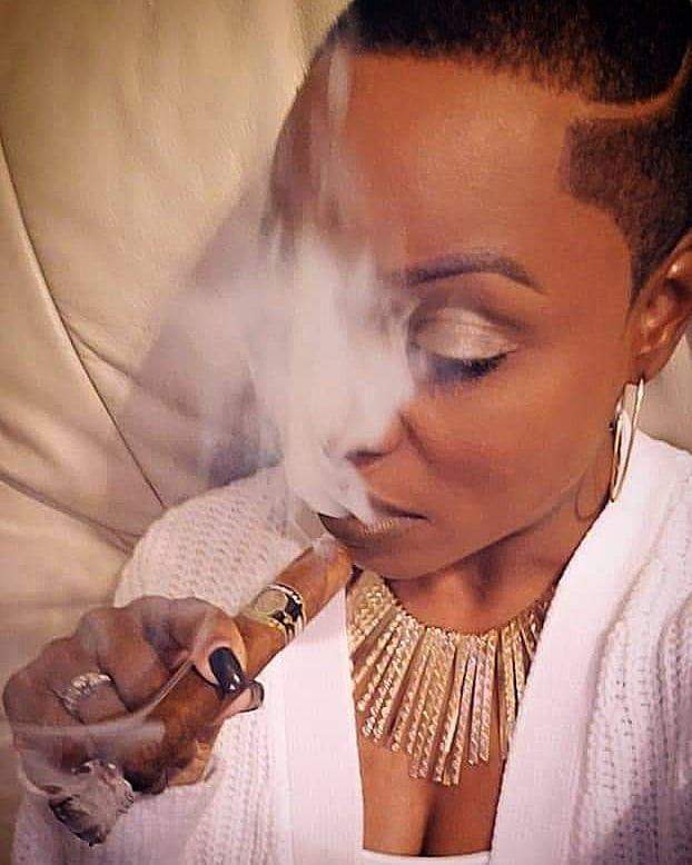 smokers heavy Busty