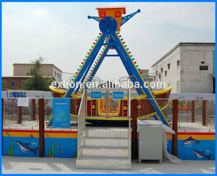 12 persons mini pirate ship for sale chinese kids games