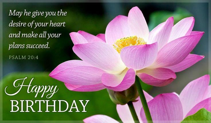 Happy Birthday Psalm 20:4