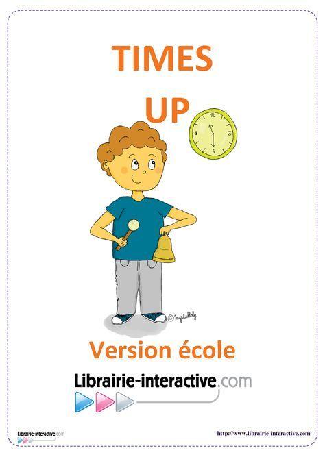 Une version du célèbre jeu de Time's UP pour jouer à l'école, de la GS au CM2.